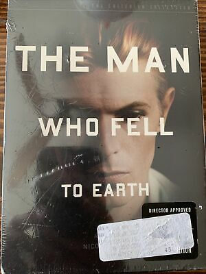 The Man Who Fell To Earth DVD 2005 2-Disc Set Criterion Collection - David Bowie • 68.87£