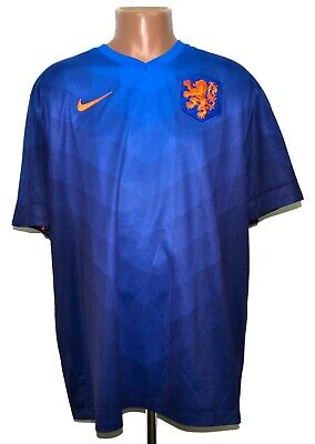 Holland Netherlands 2014/2015 Away Football Shirt Jersey Nike Size Xxl Adult • 64.99£