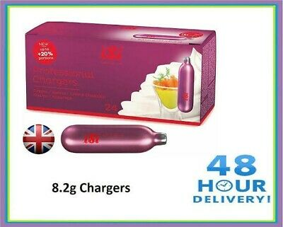 $ CDN51.62 • Buy Isi Cream Chargers - 48 Pack - Extra Large 8.4g N20 Chargers.