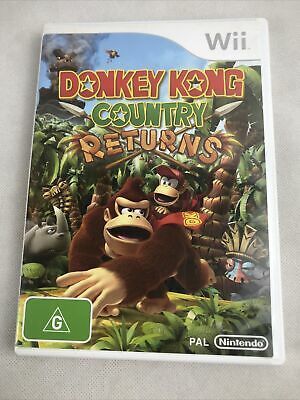 AU24.95 • Buy Wii Donkey Kong Country Returns Complete With Manual Free Postage