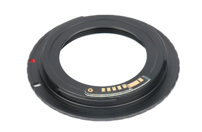 $12.41 • Buy M42 Lens Mount To Canon EOS EF/EF-S Adapter For Canon Cameras With AF Confirm