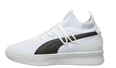 £49.99 • Buy Puma Clyde Court Mens Basketball Trainers White/Black Sizes 6 - 12 New
