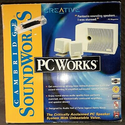 £35.48 • Buy Cambridge Soundworks PC Works Four Point Surround Sound System TESTED & WORKS