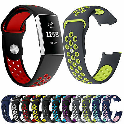AU12.99 • Buy For Fitbit Charge 2 Sport Watch Soft Silicone Wristband Bracelet Band Strap Part