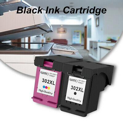 HP63/302 Black Color Ink Cartridges Deskjet 2130/3630/4520/3830 New Genuine MM • 18.02£