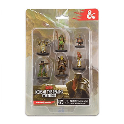 £19.99 • Buy Wizkids Dungeons & Dragons Icons Of The Realms: Starter Set