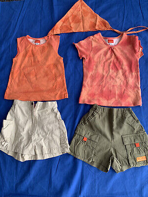 Marese Girls 5 Piece Cotton Designer Outfit Age 4-5 Years • 8.99£