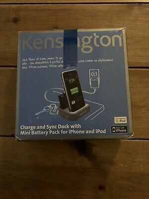 Kensington Charge And Sync Dock For IPhone And IPod - Fully Boxed • 11.99£