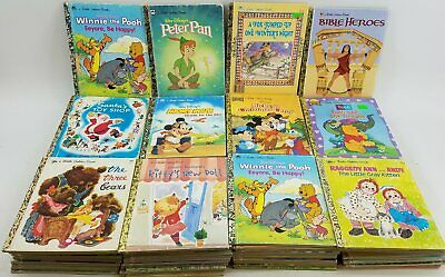 £53.24 • Buy 100 Little Golden Books - Disney/Classic/Mixed