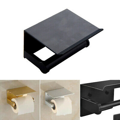 AU24.25 • Buy Wall Mounted Toilet Paper Phone Holder Rack Tissue Roll Stand 2021
