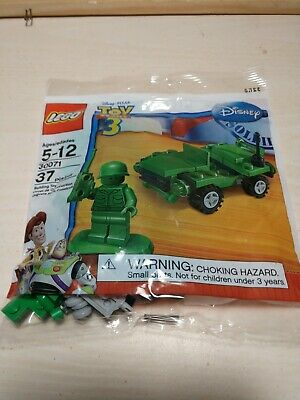 Lego Disney Toy Story 3 Sarge's Army Jeep (30071) Brand New In Polybag • 8.73£