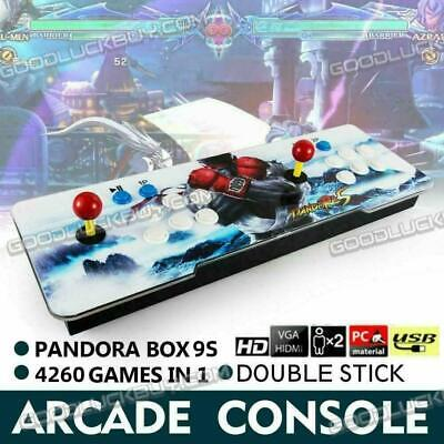 AU139.98 • Buy 2020 Pandora Box 9S 4260 3D & 2D Games In 1 Home Arcade Console 1080P HDMI