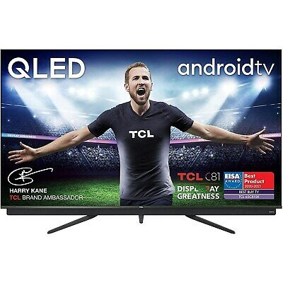 $ CDN1350.75 • Buy Refurbished TCL 65  4K Ultra HD With HDR10+ QLED Freeview Play Smart TV