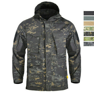 $66.99 • Buy M65 Mens Airsoft Jacket US Army Tactical Military Field Combat Camo Casual Parka