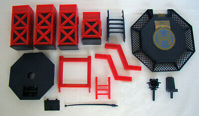 $ CDN22 • Buy Vintage Hasbro GI Joe 1985 TRANSPORTABLE TACTICAL BATTLE PLATFORM Parts Lot!