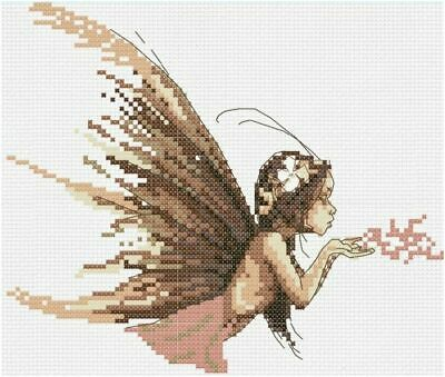 £9.99 • Buy FAIRY DUST COUNTED CROSS STITCH KIT 14 COUNT AIDA FINISHED SIZE 26x23CM
