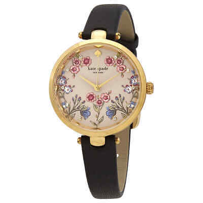 $ CDN148.83 • Buy Kate Spade Holland Quartz Crystal Beige Dial Ladies Watch KSW1462