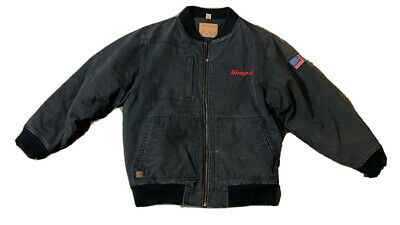 $ CDN54.44 • Buy Snap On Tools Men's Canvas Quilted Lined Jacket Size XL