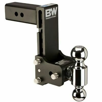 $ CDN387.44 • Buy B&W Hitches TS20040B Tow And Stow Dual Ball Adjustable Ball Mount - 7  Drop NEW