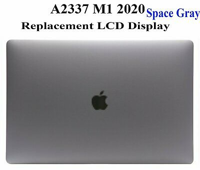 $299 • Buy NEW LCD Screen Display Assembly Space Gray For MacBook Air 13  M1 A2337 2020