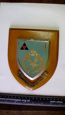 3 REGIMENT ARMY AIR CORPS SHIELD Mess Wall Plaque • 25£