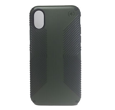 AU18.20 • Buy Speck Presidio Grip Case For IPhone X/XS - Dusty Green/Brunswick Black
