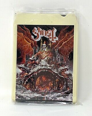 AU92.08 • Buy Official Ghost BC Band Prequelle 8 Track Tape Tobias Forge Papa Cardinal Copia