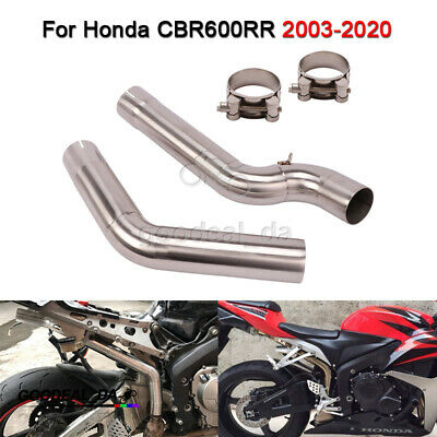 $103.39 • Buy Header Pipe For Honda CBR600RR 2003-2020 Motorcycle Exhaust Front Mid Link Pipe