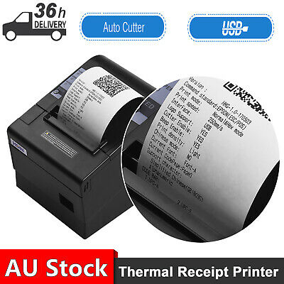 AU119.99 • Buy HOIN 80mm USB Thermal Receipt POS Printer Auto Cutter For Supermarket Store Home