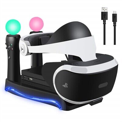 AU25.15 • Buy 4 In1 Dock Charging Stand For PS4 VR II PS Charger Holder Game Controller AU HOT