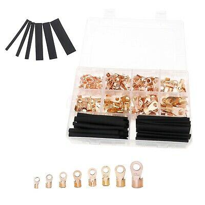 260pcs Open Crimp Connector For Solar Panel Battery Welding Cable Back-up Power • 10.69£
