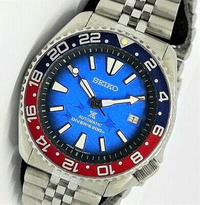 $ CDN99.97 • Buy Seiko PADI 'MANTA RAY' SDS001 Automatic Diver 7002-7000 Mens Watch Prospex 200M