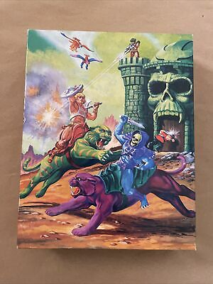 $0.99 • Buy He-Man Masters Of The Universe MOTU 100 Piece Puzzle 14x18 Golden 1983 Lot#6