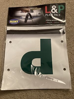 Pack Of 2 P Plates For Learner Driver • 0.99£