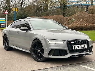 2015 Audi Rs7 4.0 Tfsi Quattro Carbon Pack 600 Bhp Huge Spec May Px  • 35,995£
