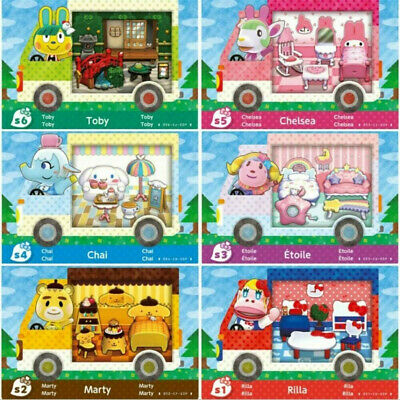 AU17.89 • Buy All 6 Pack Animal Crossing Sanrio Amiibo Cards SANRIO COLLECTION  New