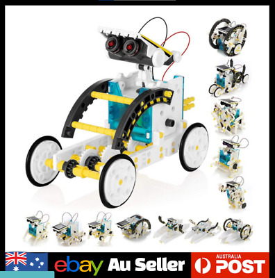 AU25.99 • Buy 13-in-1 Educational Solar Robot Kit Science STEAM STEM Holiday Craft Experiment