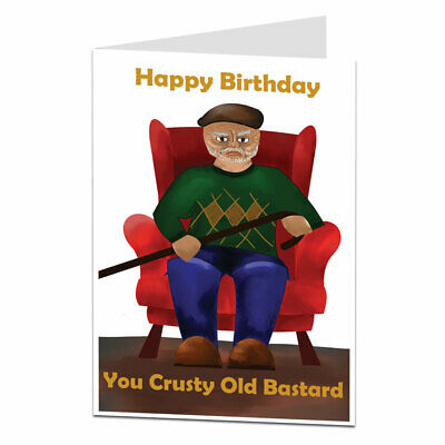 £2.99 • Buy Funny Offensive Rude Birthday Card For Men Him Perfect For Dad Brother Husband