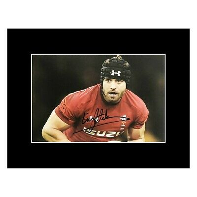 £119.99 • Buy Autographed Leigh Halfpenny Photo Display - Wales Rugby Icon +COA
