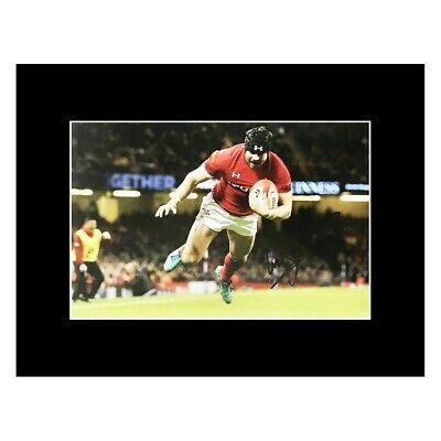 £119.99 • Buy Leigh Halfpenny Autographed Photo Display - Wales Rugby Icon +COA