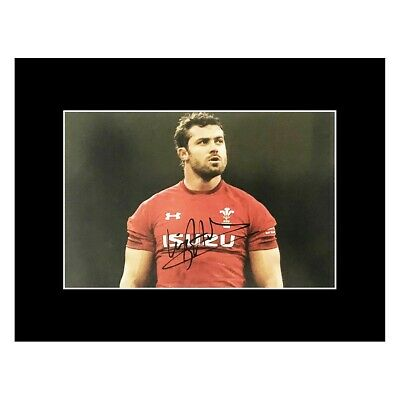 £119.99 • Buy Signed Leigh Halfpenny Photo Display - Wales Rugby Icon +COA