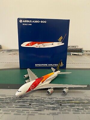 AU137.64 • Buy RARE Singapore Airlines A380-800 JC Wings 1:400