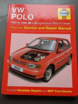 Haynes VW Polo Service And Repair Manual • 1.20£