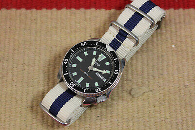 $ CDN102.76 • Buy Vintage Seiko Day Date Automatic Watch W/ Cloth Strap 6309-7290 735M R