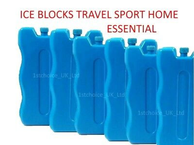 £1.95 • Buy New Reusable Freezer Cool Blocks Ice Pack Cooler For Picnic Travel Lunch Box UK