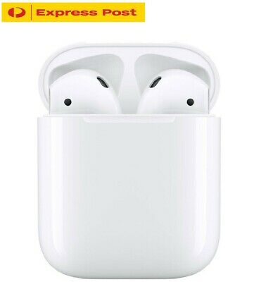 AU69.90 • Buy Apple Airpods 2nd Gen With Wireless Charging Case Airpods 2 EXPRESS SHIPPING