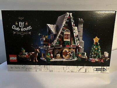 NEW Lego 10275 Winter Village Elf Club House Christmas Holiday North Pole Sealed • 137.74£