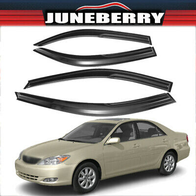 $27.99 • Buy Fit For Toyota Camry 2002-2006 Window Visors Rain Guard Vent Sun Shade Deflector