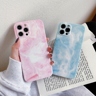 AU5.10 • Buy Marble Phone Case For IPhone 12 Pro Max 11 XS XR X 8 7 Plus Soft Silicone Cover