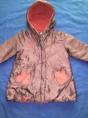 Marese Girls Purple Waterproof Padded Designer Coat Age 2A Size 86 Eu • 4.99£
